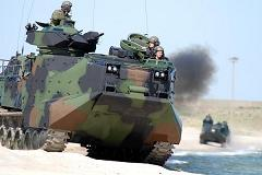 US Marines AAV7P1 Amtracs