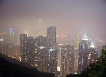 Hong-Kong at night