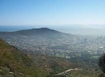 View over Cape Town, South aftrica