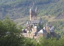 Castle near the Rhine river, Germany
