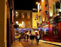Dublin at night, Ireland