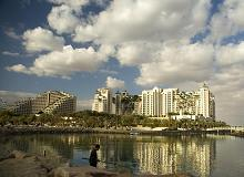 Winter afternoon, Eilat North Beach, Israel