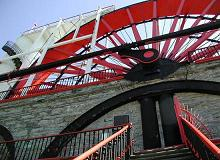 The Lady Isabella Waterwheel, Laxey, the Isle of Man