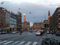 Centre of Copenhagen, Denmark