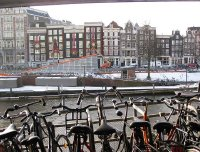 A day before Christmas in Amsterdam