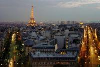 Paris at dawn