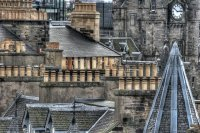 Chimneys, Edinburgh, Scotland
