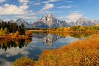 Mt. Moran and Oxbow Bend, Wyoming, USA