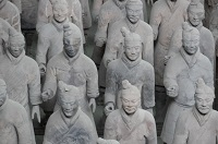 Terracota Army, Xian, China