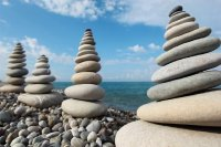 Four Stone Stacks