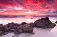 Australian Seascape at Sunrise