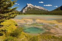 Mt. Rundle & Vermilion Lakes, USA
