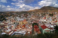 Colorful Houses in Guanajuato, Mexico