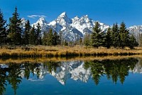 Teton Mountain Range , Wyoming, USA