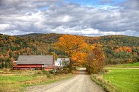 Autumn in Vermont, USA