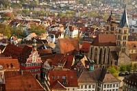Stuttgart-Esslingen Old Town Centre, Germany