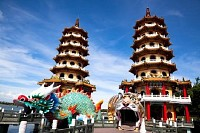 Famous Pagoda of Dragon and Tiger, Taiwan