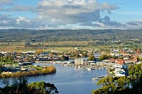 Launceston on the Tamar River, Australia