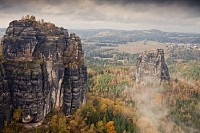 Sandstone Mountains, Schrammsteine, Germany