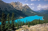 Peyto Lake Viewpoint, Canada