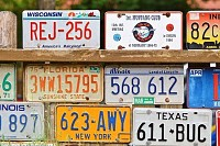 American License Plates