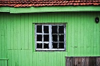 Wooden Green House