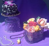 Pearls, Flowers and Cake