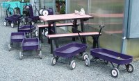 Purple Wagons