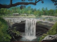 Painting of the Falls