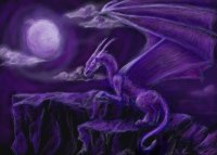 Purple Dragon-Art