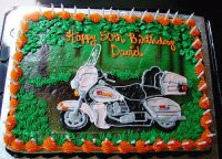 Harley Birthday Cake