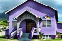 Purple Church-St Kitts