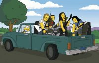 Metallica - Simpsons