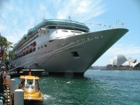 Rhapsody of the Seas - Sydney Harbour - Australia