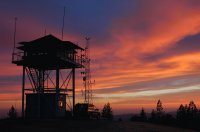 Forest Fire Lookout-Sierra National Forest