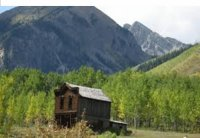 Colorado gold rush ghost town