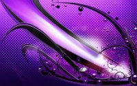 Abstract Purple Waves-Art