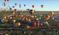 Mass Ascension - Albuquerque Balloon Festival