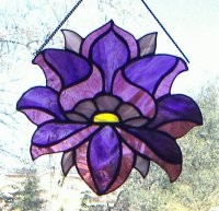 Chakra Third Eye Stained Glass
