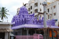 The Purple Temple-Bangelore, India