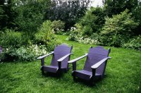 Purple Garden Chairs