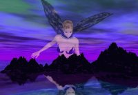 Deep Purple Fairy-Art