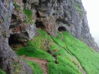 Scotland bone caves