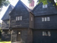 Salem witch trial judge 's house