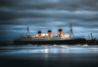 haunted cruise boat Queen Mary