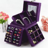 Purple Jewelry Box