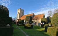 Borley church and rectory