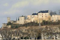 Chateau de Chinon of Eleanor of Aquitaine