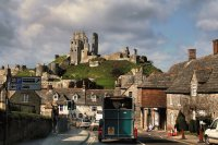 Rush hour Corfe Castle