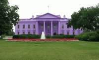 Purple White House-Washington DC
